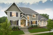 Traditional Style House Plan - 4 Beds 4.5 Baths 3797 Sq/Ft Plan #56-605