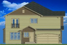 Home Plan - Traditional Exterior - Other Elevation Plan #126-165