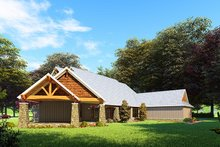 Dream House Plan - Craftsman Exterior - Front Elevation Plan #923-162