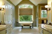 European Style House Plan - 3 Beds 2.5 Baths 3940 Sq/Ft Plan #48-430 Interior - Master Bathroom