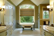 Home Plan - European Interior - Master Bathroom Plan #48-430