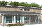 Modern Style House Plan - 3 Beds 2 Baths 1464 Sq/Ft Plan #537-24