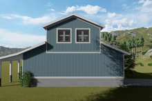 Dream House Plan - Traditional Exterior - Rear Elevation Plan #1060-97