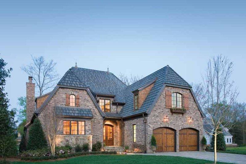 Dream House Plan - European Exterior - Front Elevation Plan #453-606