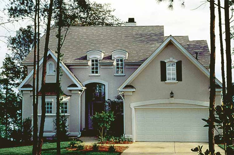 Architectural House Design - Country Exterior - Front Elevation Plan #453-443
