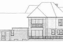 Traditional Exterior - Rear Elevation Plan #72-312