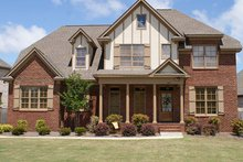House Design - Tudor Exterior - Front Elevation Plan #927-313