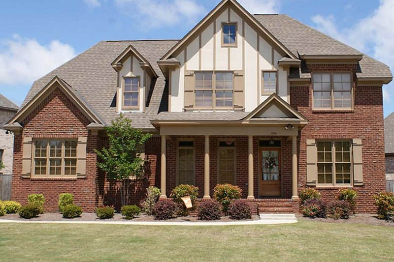 Tudor Exterior - Front Elevation Plan #927-313 - Houseplans.com