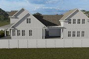 Farmhouse Style House Plan - 6 Beds 4.5 Baths 4658 Sq/Ft Plan #1060-48 Exterior - Rear Elevation