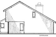 Modern Style House Plan - 2 Beds 2.5 Baths 1701 Sq/Ft Plan #320-430 Exterior - Other Elevation