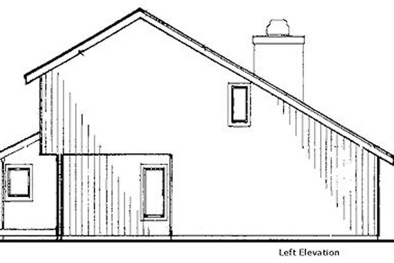 Modern Exterior - Other Elevation Plan #320-430 - Houseplans.com