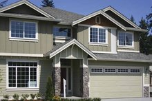 Architectural House Design - Contemporary Exterior - Front Elevation Plan #951-22