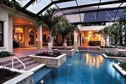 Mediterranean Style House Plan - 4 Beds 4.5 Baths 4951 Sq/Ft Plan #930-353 Exterior - Rear Elevation