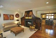 Architectural House Design - European Interior - Family Room Plan #928-25