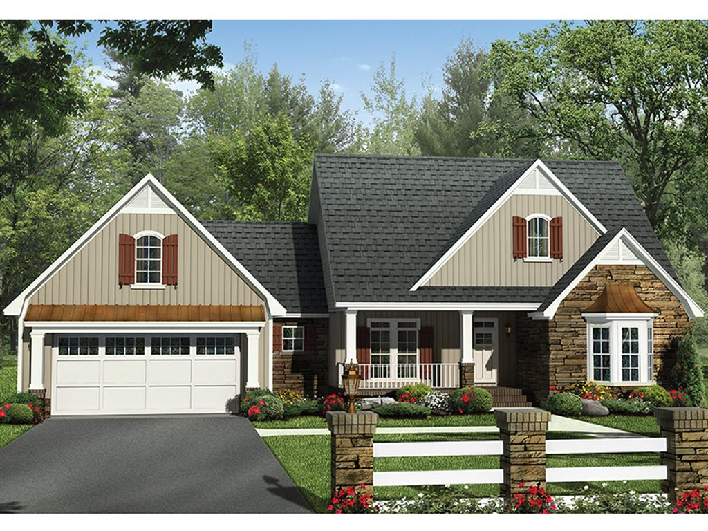 European style house plan 4 beds 2 5 baths 2258 sq ft for European farmhouse plans