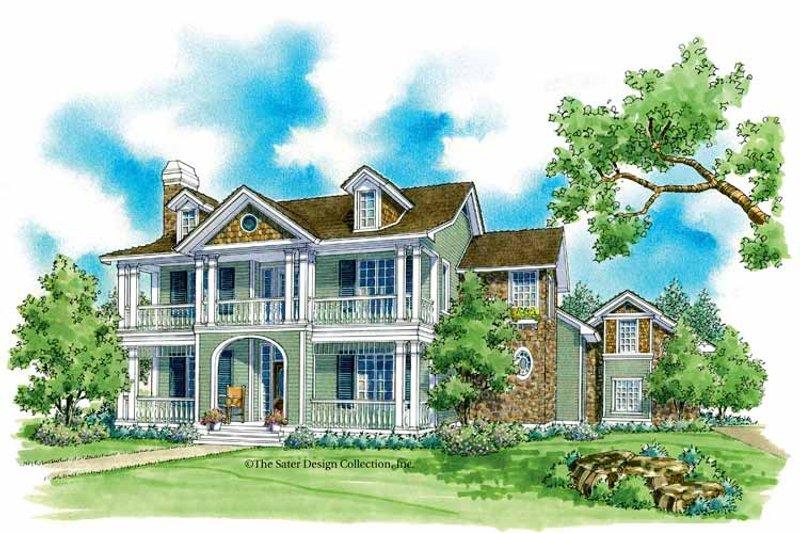 House Plan Design - Victorian Exterior - Front Elevation Plan #930-221