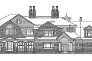 Craftsman Style House Plan - 5 Beds 5 Baths 11000 Sq/Ft Plan #132-565 Exterior - Front Elevation