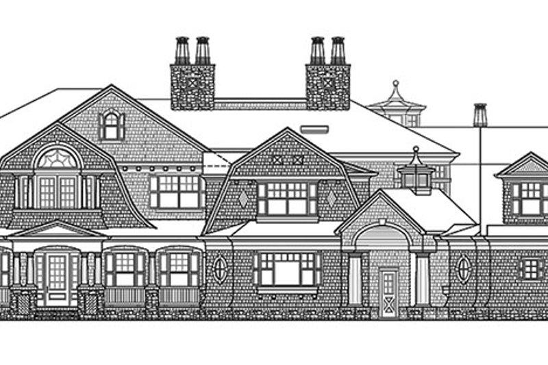Craftsman Exterior - Front Elevation Plan #132-565 - Houseplans.com