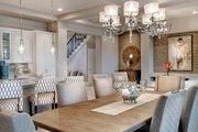 Mediterranean Style House Plan - 3 Beds 3 Baths 3648 Sq/Ft Plan #930-449 Interior - Dining Room