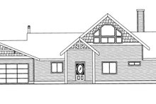 Craftsman Exterior - Front Elevation Plan #117-843