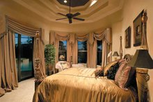 Mediterranean Interior - Master Bedroom Plan #930-328