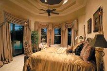 House Plan Design - Mediterranean Interior - Master Bedroom Plan #930-328