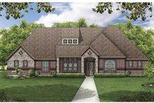 House Design - European Exterior - Front Elevation Plan #84-775