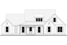 Architectural House Design - Farmhouse Exterior - Front Elevation Plan #430-244