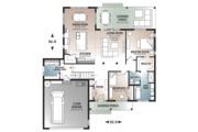 Farmhouse Style House Plan - 2 Beds 1.5 Baths 1556 Sq/Ft Plan #23-2679 Floor Plan - Main Floor Plan