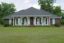 Dream House Plan - Country Exterior - Front Elevation Plan #44-200