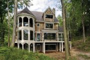 Craftsman Style House Plan - 3 Beds 4.5 Baths 4060 Sq/Ft Plan #928-71 Exterior - Rear Elevation
