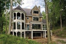 House Design - Craftsman Exterior - Rear Elevation Plan #928-71