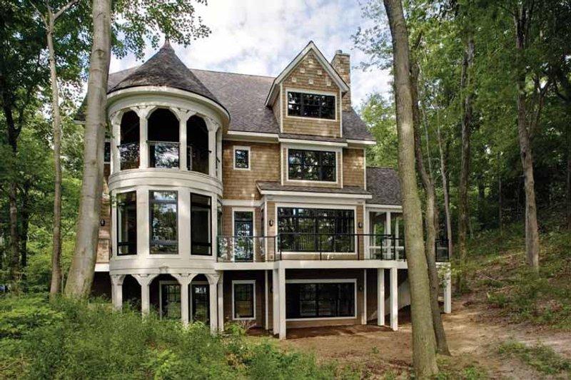 Craftsman Exterior - Rear Elevation Plan #928-71 - Houseplans.com