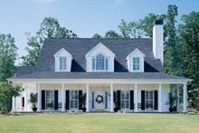 Dream House Plan - Country Exterior - Front Elevation Plan #929-96