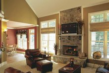 Country Interior - Family Room Plan #927-502
