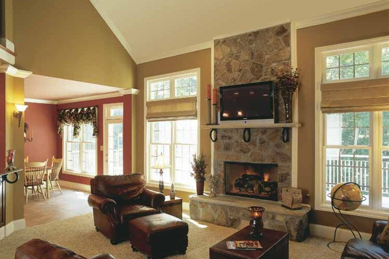 Country Interior - Family Room Plan #927-502 - Houseplans.com