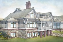 House Plan Design - Country Exterior - Rear Elevation Plan #928-276