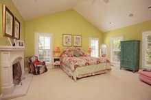 Country Interior - Master Bedroom Plan #57-628