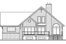 Dream House Plan - Country Exterior - Rear Elevation Plan #23-2562