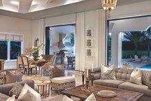 House Plan Design - Mediterranean Interior - Family Room Plan #930-444