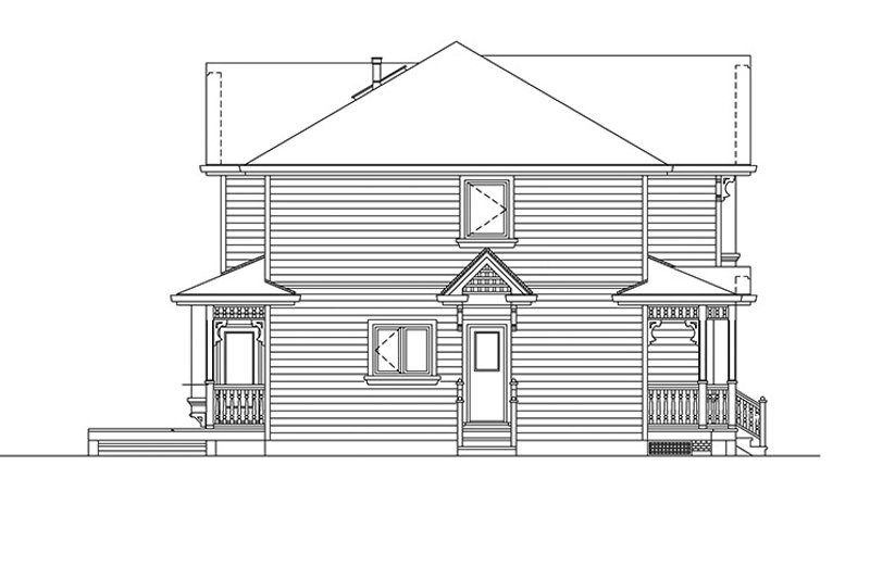 Victorian Exterior - Other Elevation Plan #47-903 - Houseplans.com