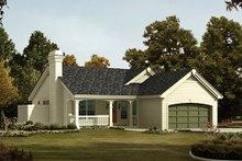 House Design - Farmhouse Exterior - Front Elevation Plan #57-383