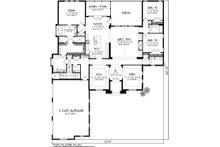 Ranch Floor Plan - Main Floor Plan Plan #70-1126