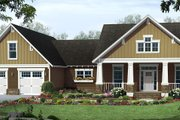 Country Style House Plan - 3 Beds 2.5 Baths 1902 Sq/Ft Plan #21-458 Exterior - Front Elevation