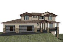 Home Plan - Modern Exterior - Front Elevation Plan #1066-129
