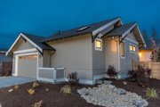Craftsman Style House Plan - 3 Beds 2 Baths 1939 Sq/Ft Plan #895-82 Exterior - Rear Elevation