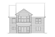 Dream House Plan - Craftsman Exterior - Rear Elevation Plan #48-286