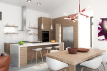 Contemporary Interior - Kitchen Plan #80-220