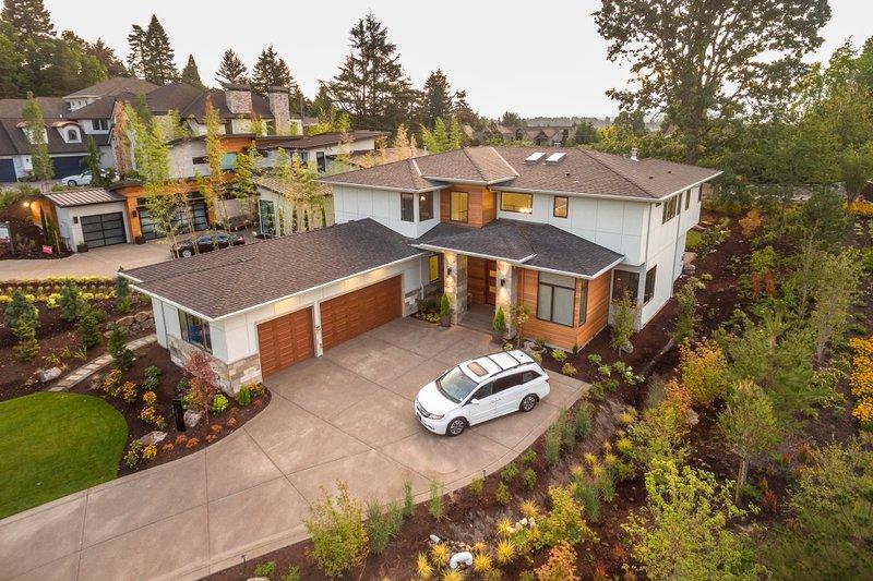 Contemporary Exterior - Other Elevation Plan #48-651 - Houseplans.com