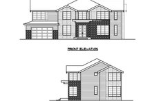 House Plan Design - Traditional Exterior - Other Elevation Plan #1066-60